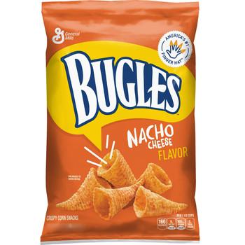 Bugles, Nacho Cheese, 3.0 oz. Bag (1 Count)