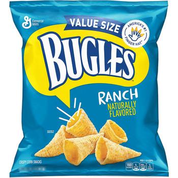 Bugles, Ranch, 3.0 oz. BIG Bag (1 Count)