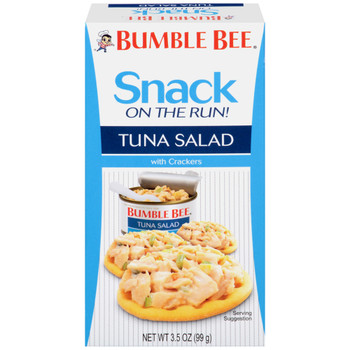 Bumble Bee, Tuna Salad Kit with Crackers, Ready to Eat, 4.0 oz. (1 Count)