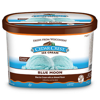 Cedar Crest, Blue Moon Ice Cream, Squround (1 Count)