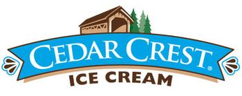 Cedar Crest, Chocolate Chip Cookie Dough Ice Cream, Squround (1 Count)