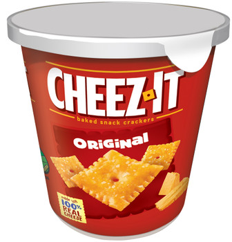 Cheez-It, Cheese Crackers, Original, 2.2 oz. Cup on the Go (1 Count)