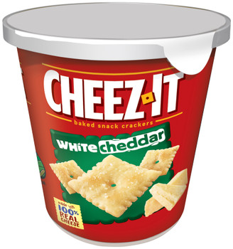 Cheez-It, White Cheddar Crackers, 2.2 oz. Cup on the Go (1 Count)