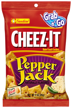 Cheez-It, Pepper Jack, 3.0 oz. Bag (1 Count)