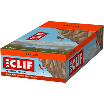 CLIF Bar, Apricot, 2.4 oz. (12 Count)