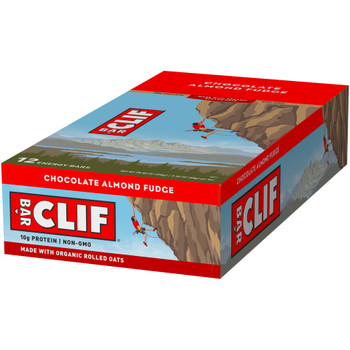 CLIF Bar, Chocolate Almond Fudge, 2.4 oz. (12 Count)