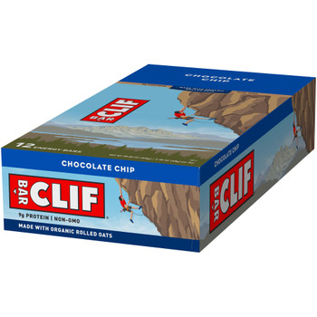 CLIF Bar, Chocolate Chip, 2.4 oz. (12 Count)