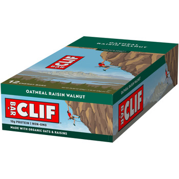 CLIF Bar, Oatmeal Raisin Walnut, 2.4 oz. (12 Count)