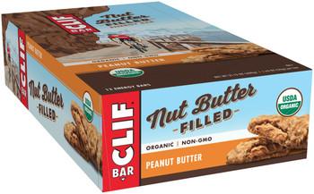 CLIF Nut Butter Filled, Peanut Butter, 1.76 oz. Bar (12 Count)