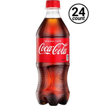 Coca Cola, Classic Coke, 20 oz. Bottles ( 24 Count Case)
