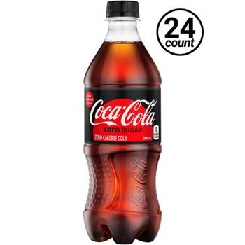 Coca Cola, Coke Zero, 20 oz. (24 Count Case)