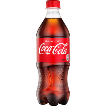 Coca Cola, Classic Coke, 20.0 oz. Bottle (1 Count)