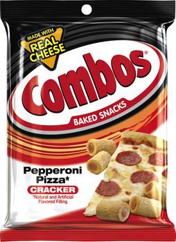 Combos, Pepperoni Pizza Cracker, 7 oz. Bag (1 Count)