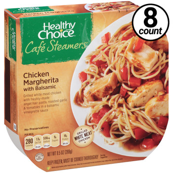 Conagra, Healthy Choice Cafe Steamers, Chicken Margherita, 9.5 oz. Microwavable Entree (8 Count)