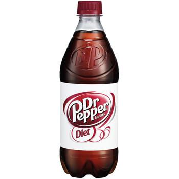 Diet Dr. Pepper, 20.0 oz. Bottle (1 Count)