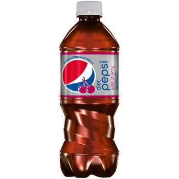 Diet Pepsi Wild Cherry, 20.0 oz. Bottle (1 Count)
