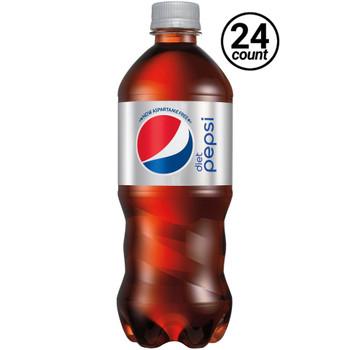Diet Pepsi, 20 oz. Bottles ( 24 Count Case)
