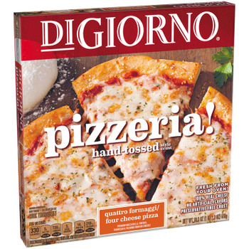 Digiorno, Pizzeria! Quattro Formaggi / Four Cheese Pizza, 19.3 oz. (1 Count)
