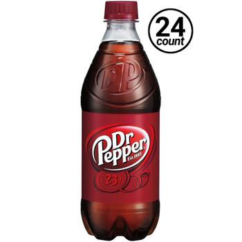 Dr. Pepper, 20 oz. Bottles (24 Count Case)