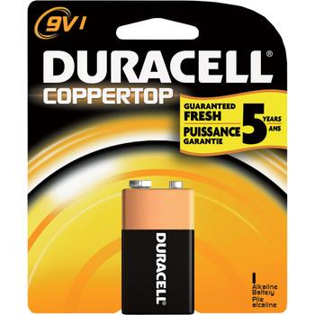 "Duracell, Coppertop, ""9-volt"" cell"