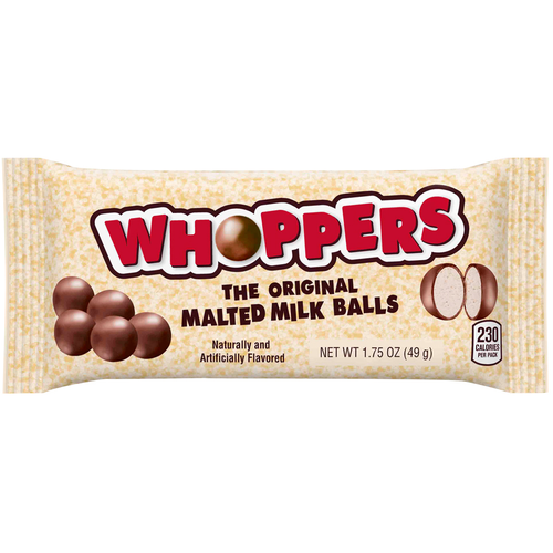 Whoppers The Original Malted Milk Balls 1.75 oz. bag (24 count)