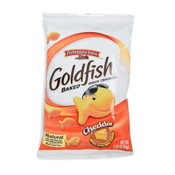 Goldfish, Cheddar Cheese, 2.25 oz. Bag (1 Count)