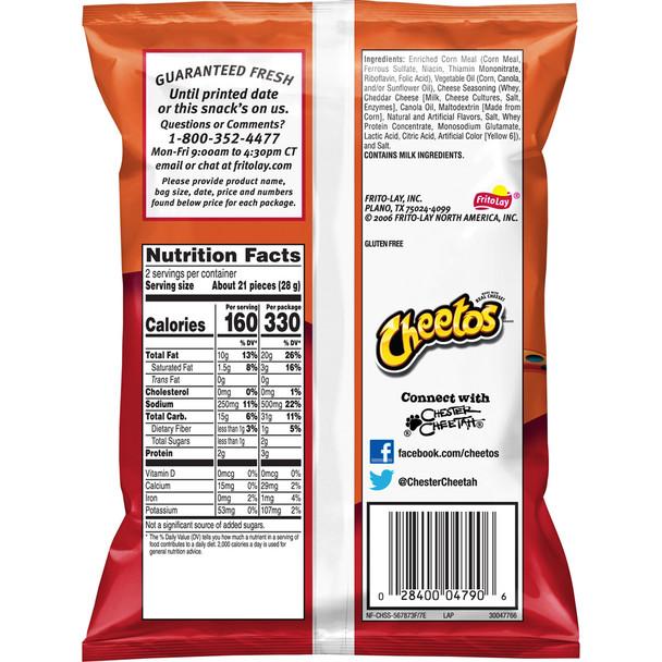 Cheetos, Crunchy, 2.0 oz. Bag (1 Count)