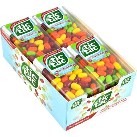 tic tac fruit adventure 1 0 oz big packs 12 count rocketdsd