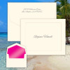 Panama Fold Notes - Raised Ink Stationery - Made In The USA - FREE SHIPPING (EG8079)