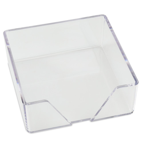 Clear Beverage Napkin or Memo Holder (EG5758)