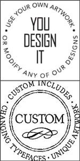 Your Logo Here Embosser Set - Custom Image Embossing Plate & Device (TD1089)