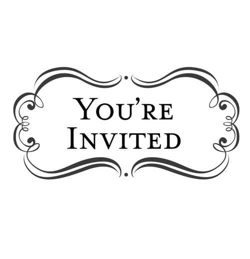 Amore You're Invited - Stamp Clip