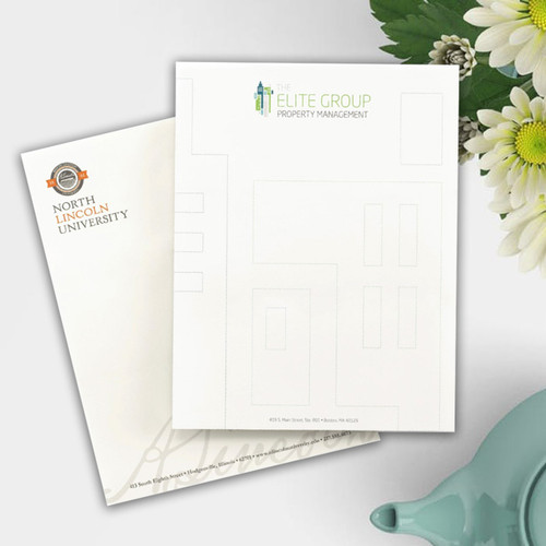 """Personalized Business Letterhead - Value Full Color Sheets - 8.5"""" x 11"""" (NT5500)"""