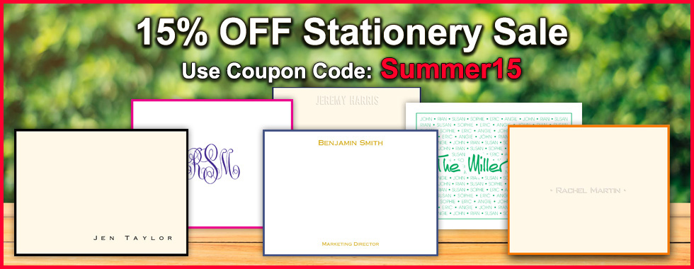 15% OFF Stationery Sale at StationeryXpress.com