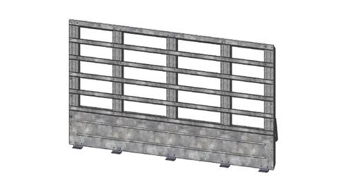 5' Panel Slat Landscape Gate Kit