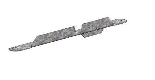 Front Load Retention Arm - Passenger Side