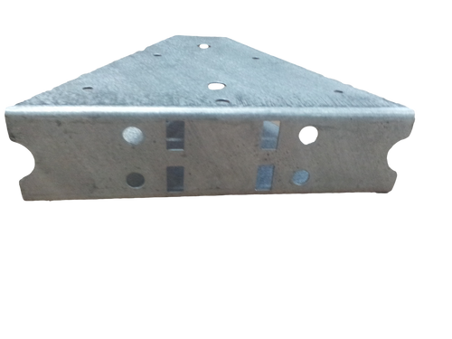 """5"""" Tongue connection bracket V Shape for channel tongue."""