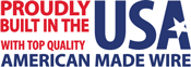 buit in the USA with made-in-the-USA wire