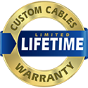 Polar Wire custom cable warrenty seal