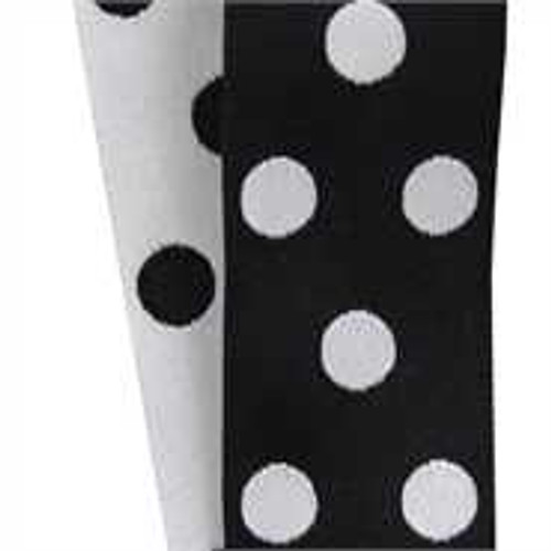 Cirq Black / White Reverse Dots