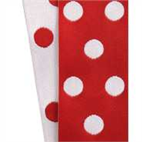Cirq Red / White Reverse Dots