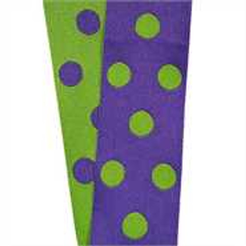 Cirq Purple / Green Reverse Dots