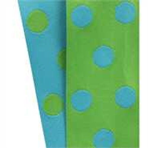 Cirq Green/Turquoise Reverse Dots