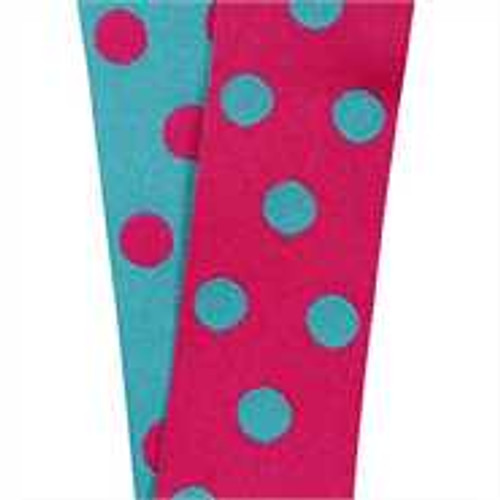 Cirq Pink/Turquoise Reverse Dots