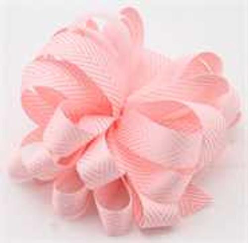 Kessie Twill Chevron Ribbon Pink