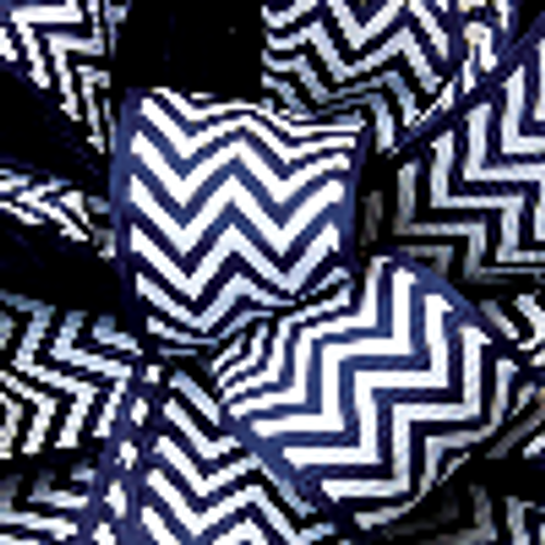 Royal Grosgrain Chevron Ribbon