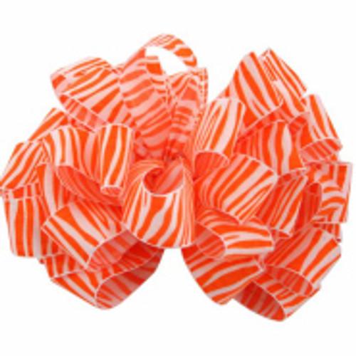 Torrid Orange Zebra Crystal Ribbon