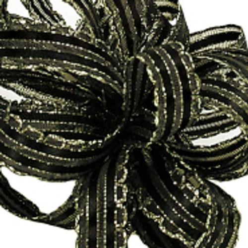 Kendra Black/Gold