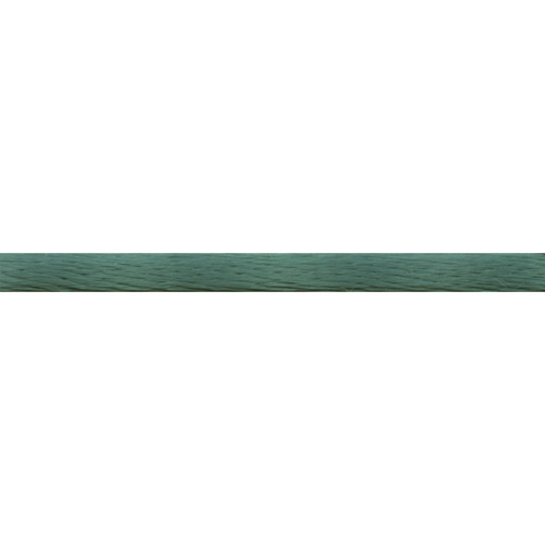 Dark Green Rattail Satin Cord.