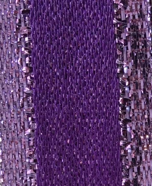 Purple Metallic Ribbon - Stacie